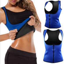 Drop Shipping 2018 New Fashion Body Shapers Slimming Midja Slim Vest Neopren Underbust Body Slim Massage