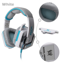 Headphones G8000 Gaming Stereo Sound 2.2M Wired Headphone Noise Reduction with Hidden Microphone for Smartphone Tablet PC