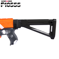 WORKER F10555 3D Printing Foldable AK Mold Shoulder Stock Tail Stock For Nerf N Strike Elite
