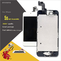 Ovsnovo For IPhone 5S 6 6s Retina LCD Pantalla Replacement Display Touch Screen Digitizer Full Assembly