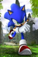 Home Decoration Sonic The Hedgehog Anime Sonic 90*60CM Wall Scroll Poster #38739