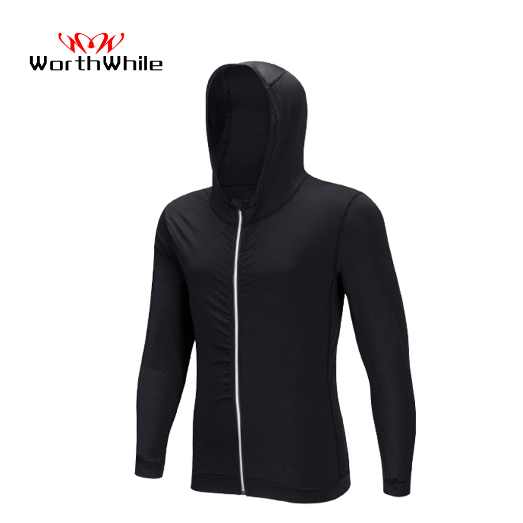 WorthWhile Sports Coat Jacket Tracksuit Cover For Men Quick Dry Wear Running Suit Jogging Gym Fitness Workout Clothes Reflective