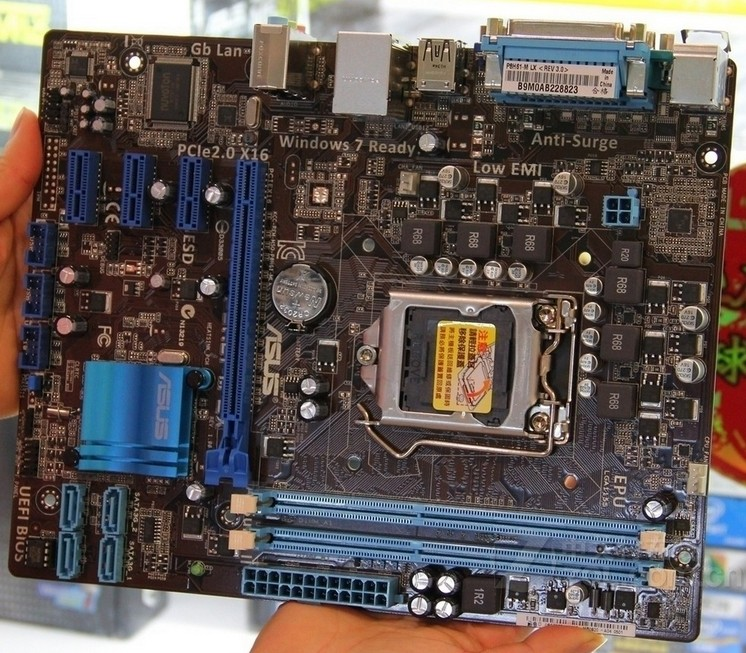 original motherboard for ASUS P8H61-M LX DDR3 LGA 1155 for I3 I5 I7 22nm/32nm CPU 16GB USB2.0 h61 motherboard Free shipping original motherboard for p8h61 i ddr3 lga 1155 boards for i3 i5 i7 cpu 16gb h61 desktop motherboard free shipping