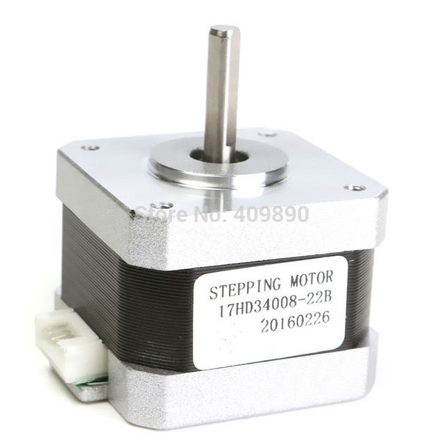 3D Printer High Torque 17 Stepper Motor 300mN 1.5A 2 phase 4 wire-in on