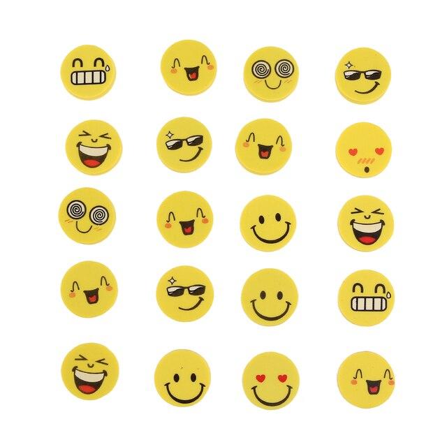 Favori 20 Pièces/ensemble Bande Dessinée Émotion Smail Visage Kawaii  JK57