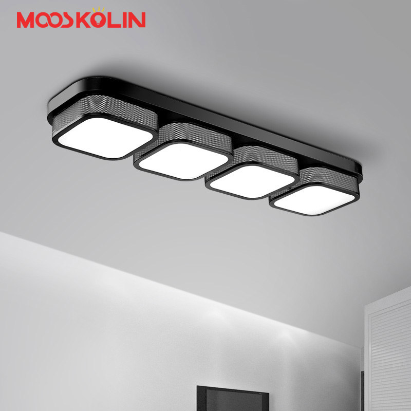 2017 Modern LED Ceiling lighting Lustre Luminarias Para Sala led lamps for home aisle corridor balcony kitchen Entrance fixtures led ceiling lights for hallways bedroom kitchen fixtures luminarias para teto black white black ceiling lamp modern