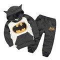 Menino Terno Crianças Outfits Treino Batman Roupas Crianças Hoodies + crianças Calças 2 pcs crianças Terno Do Esporte Do Bebê Meninas Roupas conjunto