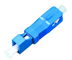Image 1 - QIALAN LC Female to SC Male Simplex Singlemode Fiber Optic Adapter