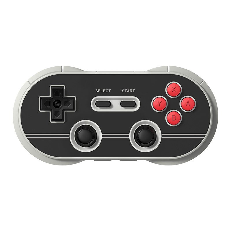 Official 8BitDo New Black Color N30 PRO 1.0V Wireless Bluetooth Gamepad Controller for Switch Steam Android MacOS Raspberry Pi цена и фото
