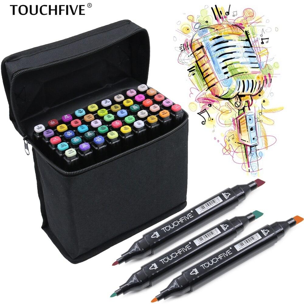 Marcadores da Arte cabeça descoberta mangá esboço marcadores Art Marker Usage : Art Sketch Drawing Pain