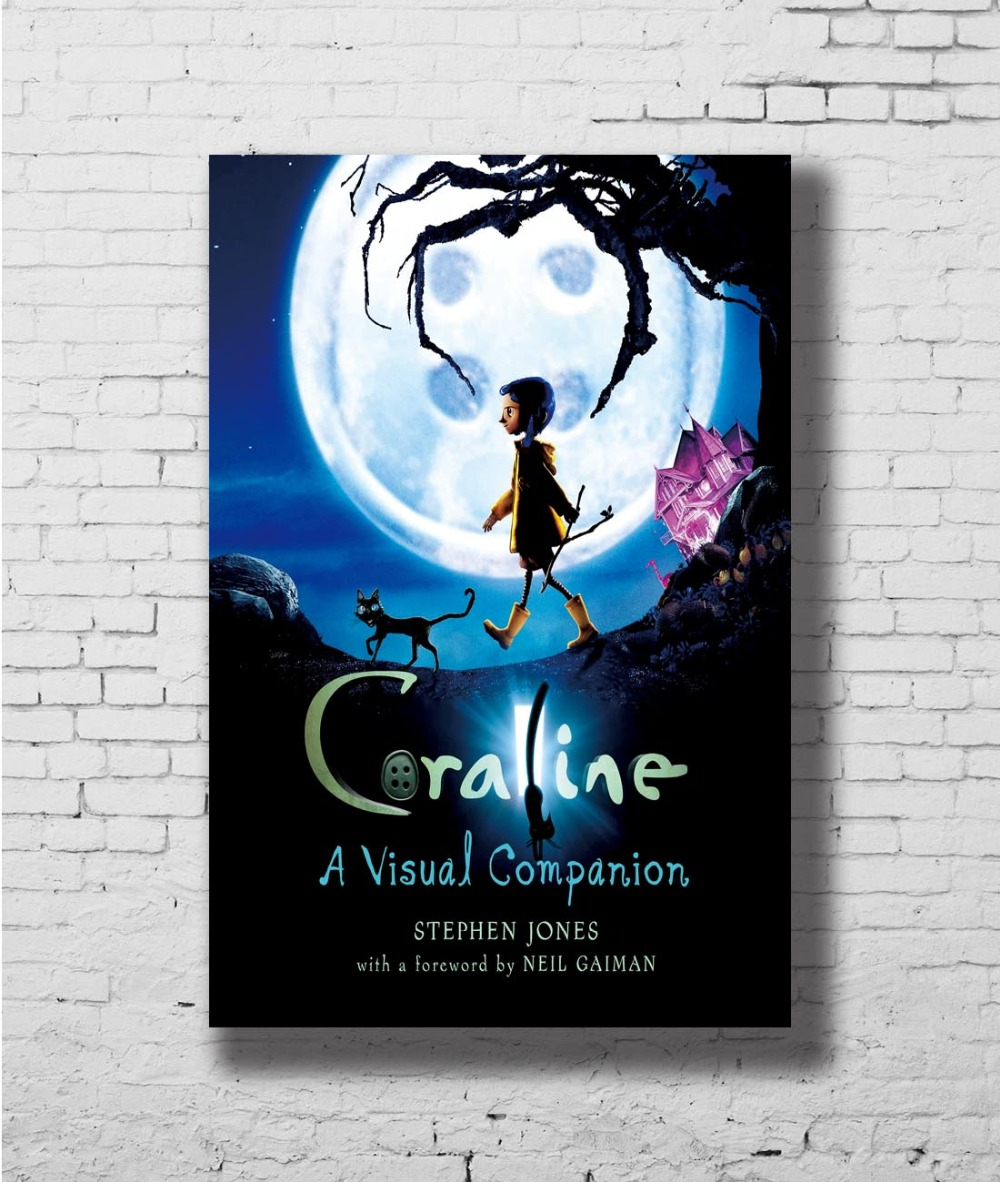 US $4 3 12% OFF|Coraline Movie Wall Sticker Home Decoration Silk Art  Poster-in Painting & Calligraphy from Home & Garden on Aliexpress com |  Alibaba