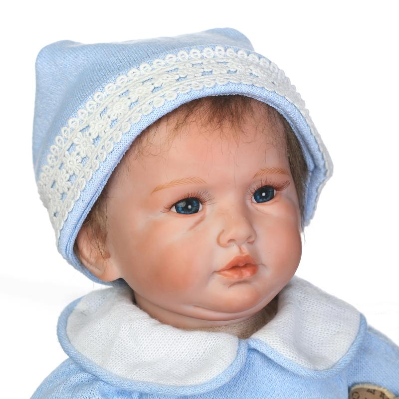 doll alive soft silicone vinyl touch lovely lifelike reborn baby doll with soft mohair hair gifts for Birthday and Christmas new fashion design reborn toddler doll rooted hair soft silicone vinyl real gentle touch 28inches fashion gift for birthday