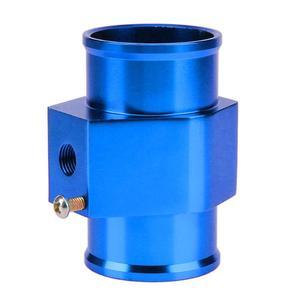 Image 2 - Jauge de température deau bleue jauge de capteur de température tuyau de Joint adaptateur de tuyau de radiateur jauges dautomobiles jauges déchappement accessoires de voiture