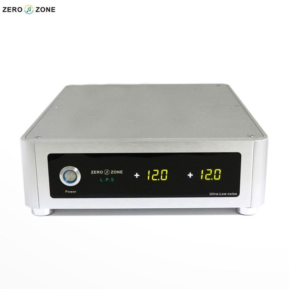 HIFI 130 W 2 voies sortie Ultra Faible Bruit DC Linéaire Alimentation avec LED affichage peut Personnalisé tension 65 W + 65 W