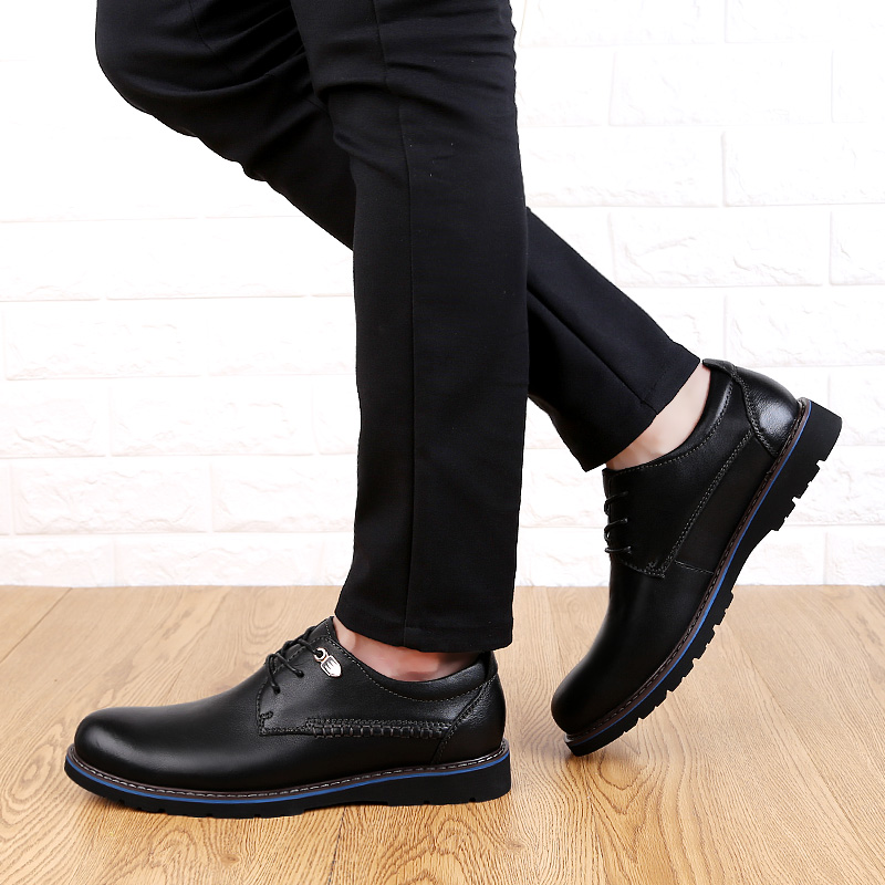 Black brown Black Vaca Para Dos Sapatos Tamanho Vestido Forma Man amp; Grande Sapatas Homens Classic Elegante Escritório 2019 De 48 Sapato Genuíno up Couro Lace Brown ZF4Snqw