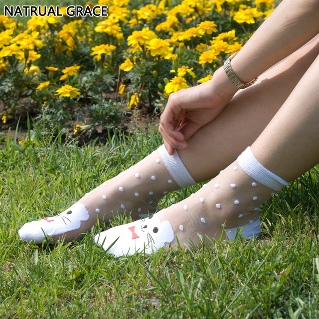10 Pairs Of High Quality Thin Socks For Women – One Size