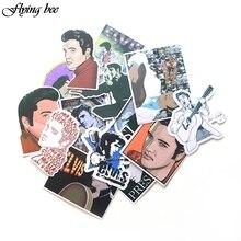 Flyingbee 14 Pcs Adesivo Graffiti Famoso musicista Divertente Adesivi per il FAI DA TE Sticker on custodia Da Viaggio Portatile di Skateboard X0024