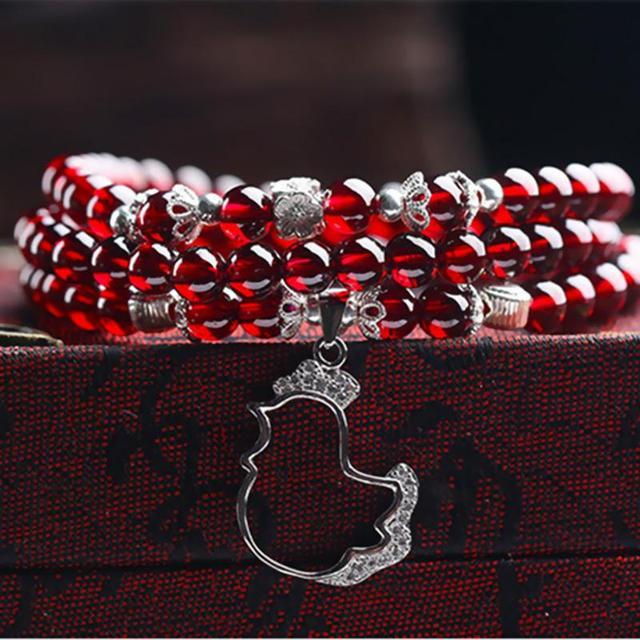 Garnet Wine Red Bracelets11