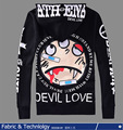 Original Design ATH ENA Devil Nut Love Printed Men Vintage Rock&Roll Fleece Hoodies Plus Size Hip-hop Hoody 4XL Sweatshirts