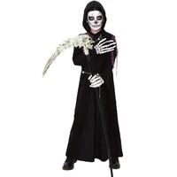 black devil robe for men devil cosplay costumes demon cosplay halloween costumes for men carnival clothing