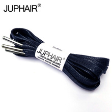 3Pairs Waxed Cotton Flat Shoelaces Leather Shoes Shoestring Boots Shoe Laces Martin Shoelace Metal Head High-grade