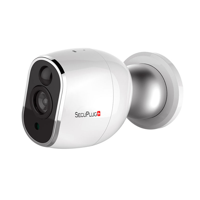 SecuPlug+ 960P 1.3MP Full HD Surveillance Security CCTV Camera Home Mini WIFI Network Wireless IP Camera DC 5V power supply