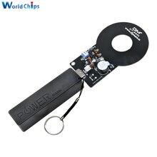 DIY Kit Metall Detektor Kit 18650 USB Power Bank Fall DC 3V-5V 60mm Nicht-kontaktieren Sensor Board Modul Elektronische Kit Metall Detektor