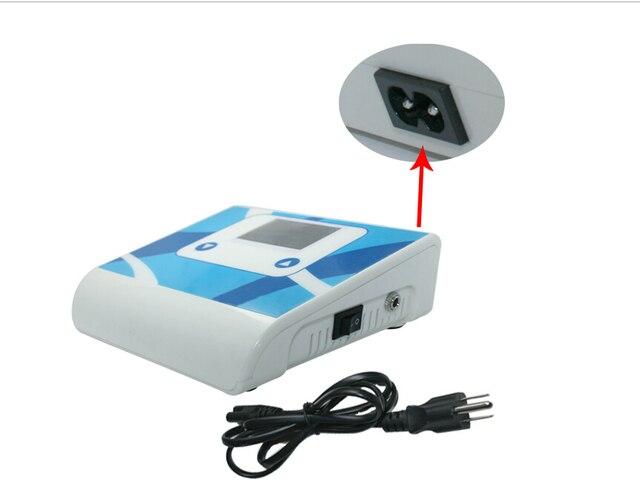 Newest Design Pro Tattoo Power Supply Digital power Box F Rotary Machines (white)