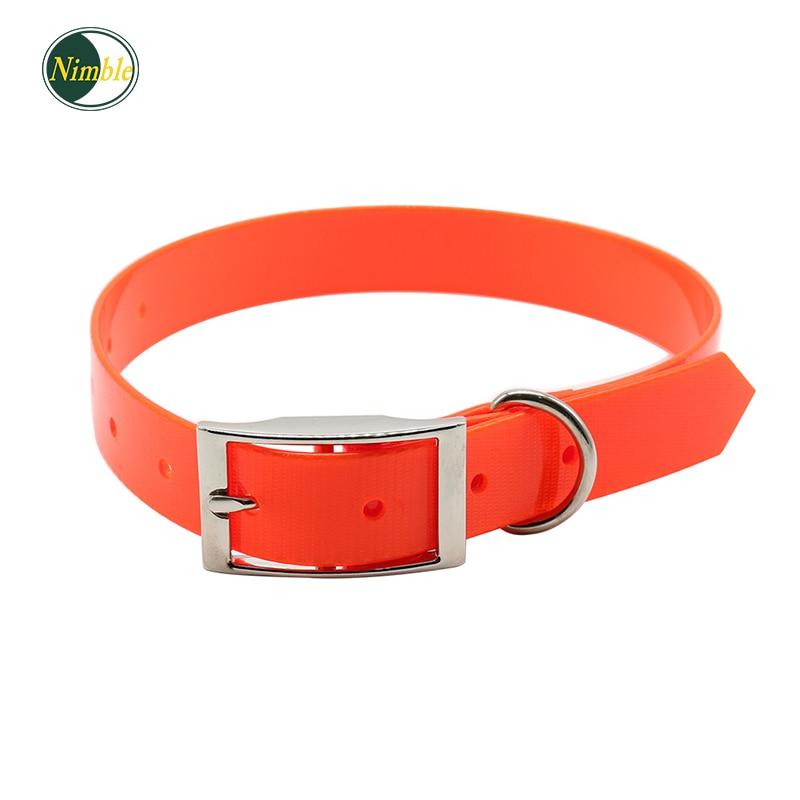 Nimble dog collar High quality TPU Nylon Safety collars deodorant waterproof collar pet supplies training dog in Collars from Home Garden