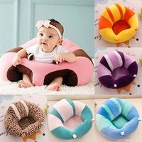 Cotton Baby Support Seat Soft Baby Chairs Car Cushion Sofa Plush Pillow Pads Plush Toy Child