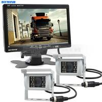 DIYSECUR IR Night Vision Rear View Camera Car Camera DC 12V 24V 7 Inch TFT LCD
