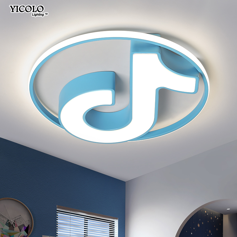 Modern LED chandelier ceiling white For child luminaire Living Room kitchen children's light decoration luminaires indoor lamps gztophid car bifocal fog lens front bumper lights bifocal lens assembly for volkswagen tiguan 10 12 taiwan product