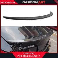 Amg Design Carbon Fiber Auto Car Accessories Parts Spoiler For Mercedes Cla Class W117 CLA 260