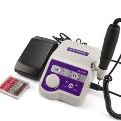 Fabrik Profis JSDA JD8500 Elektrische Nagel Bohren Maniküre Maschine Werkzeug Pediküre Polierer Nägel Kunst Ausrüstung 65W 35000RPM