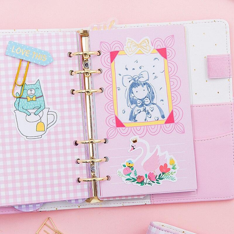Lovedoki 2018 coreeană drăguț spirală notebook drăguț A5A6A7 - Blocnotesuri și registre - Fotografie 3