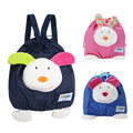 Mini Schoolbag Toy Toddler Baby Kids Mini Cartoon Backpack Portable Cloth Schoolbag Shoulder Bag Dark Blue/Pink/Light Blue