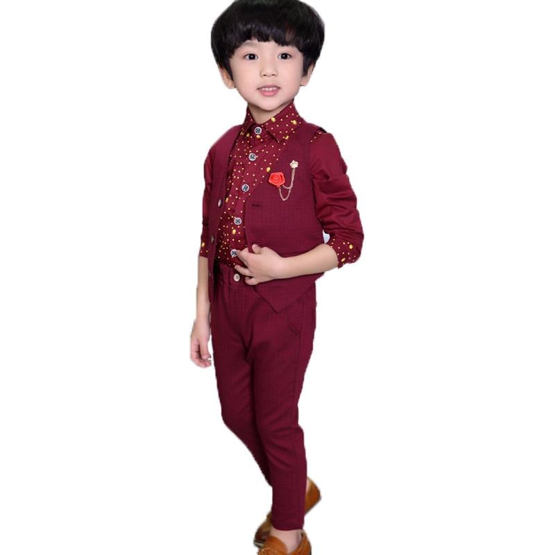 Blume Jungen Anzug Schule Kinder Leistung Uniform Kleid Für Mädchen Hochzeit Anzug Gentleman Kinder Klavier Weste Hosen 2 Stücke Set