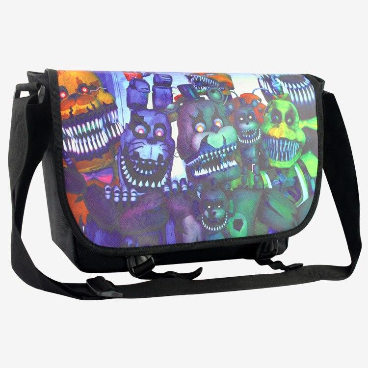 Новый Five nights at Freddys сумка Школа сумка для студентов детские для мальчиков девоч ...
