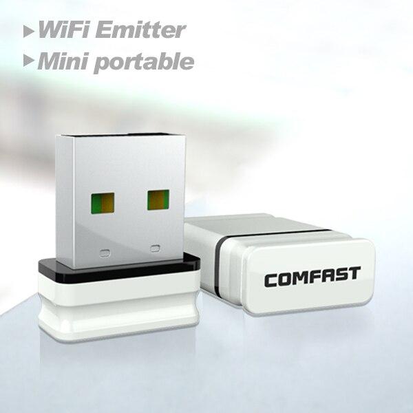 2 stücke comfast adaptador wi-fi cf-wu810n rezeptor wifi usb adapter wifi access...