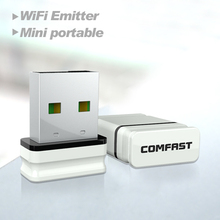 2pcs Comfast adaptador wi-fi CF-WU810N receptor wifi usb wi-fi adapter wifi access point RTL8188EU chipset wireless wifi dongle