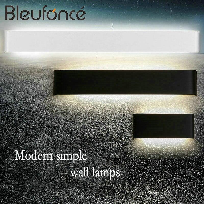 Modern Aluminum Wall lamp 5W/6W/14W/20W/24W/30W/36W LED Wall <font><b>Sconce</b></font> Lamp Lighting Indoor Bedroom Bathroom Mirror Front Lights