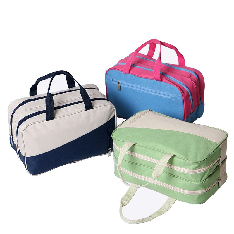 High Quality Woman Large Capacity Waterproof Organizer Travel Bag  Portable Beach Dry And Wet Separator Lady Cosmetic Bags 66