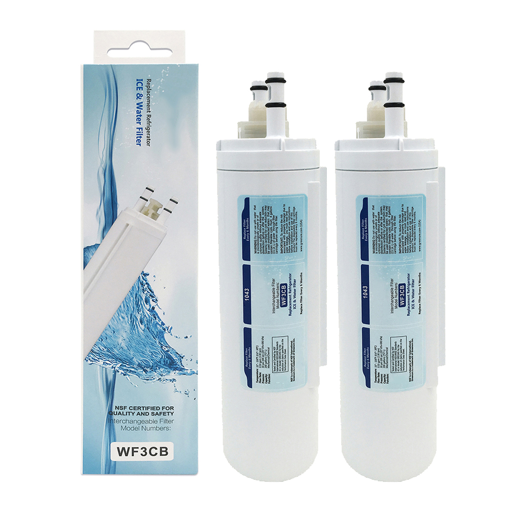 NEW Brand Household GRE1043 Refrigerator Ice & Water Filter Advanced Carbon Replacement for Frigidaire WF3CB 2 Pcs/lot