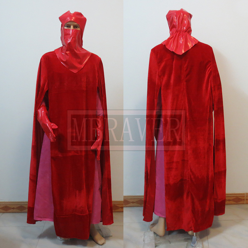 Star Wars Red Royal Guard Cosplay Costume Custom Made