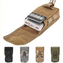 CQC 5,5 дюйма тактический Molle мешок телефона армия кемпинг Пеший Туризм Бег Охота Мини талии упаковка для мобильного телефона держатель дело