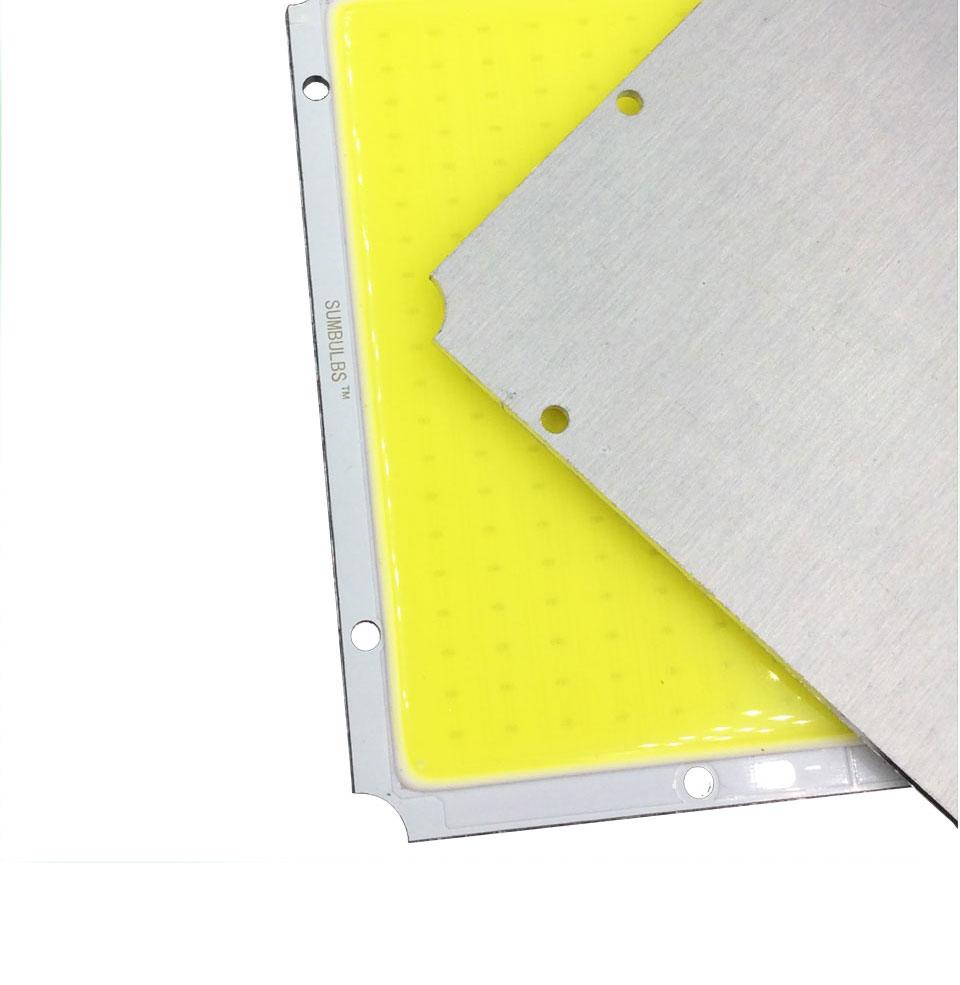 Sumbulbs 100x95mm Square Ultra Bright 50w Cob Led Light Lamp 5000lm How To Build Rectangle Matrix Dc 12v 14v 3000k 6500k Warm