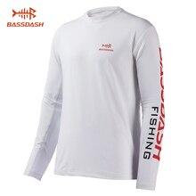 Bassdash Мужская УФ Защита от солнца UPF 50+ рыбалка рубашки с длинным рукавом Тройник