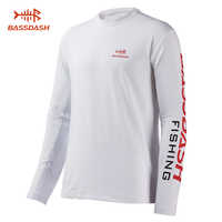 Camiseta de manga larga Bassdash para hombre con protección solar UPF 50 +