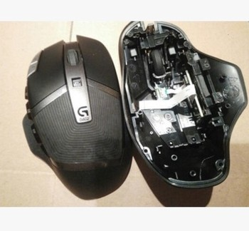 1 pc original new mouse top shell mouse top housing for logitech G602 mouse cover with side keys 1