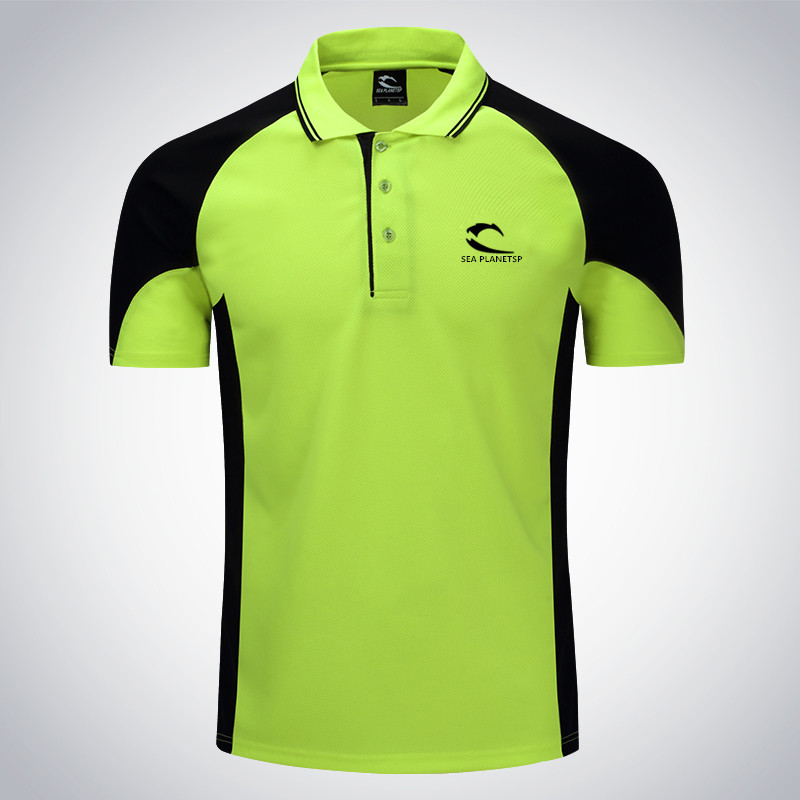 2017 New Men Tennis Clothing Male Fitness Run Jogging Outdoor Sport Workout Badminton T-shirt Short Sleeve Breathable Polo Shirt